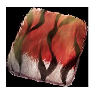 炎獣神の毛皮の画像