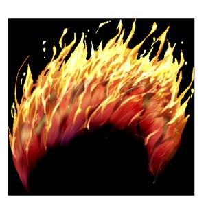炎獣神のたてがみの画像