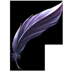 漆黒の羽の画像
