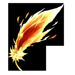 不死鳥の羽の画像