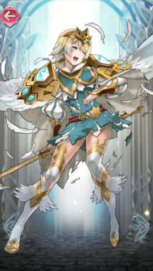 フィヨルム(氷の姫)の立ち絵