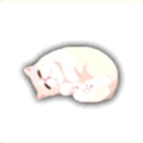 怠けネコの画像