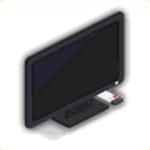 薄型テレビの画像