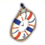 浮き輪時計の画像