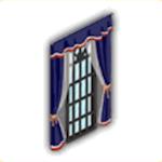 王家風の大窓の画像