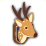 剥製風装飾鹿の画像