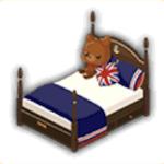 王家ベッドの画像