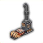 鉄血風暖炉の画像