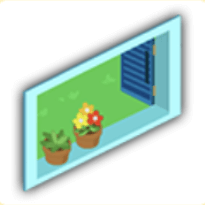 スイカ窓の画像