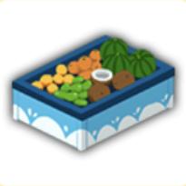 果物棚の画像