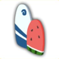 サーフィンボードの画像