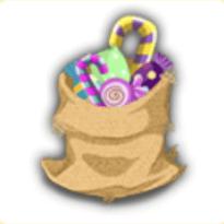 グルグル菓子袋の画像