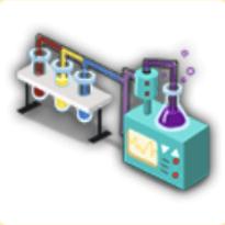 実験道具の画像