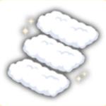 雲さんハシゴの画像