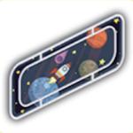 宇宙船の窓の画像