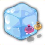 水キューブの画像