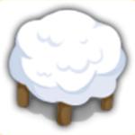 雲さん椅子の画像