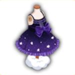 星のドレスの画像