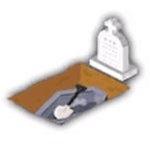 埋葬地の画像