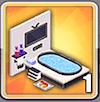 ゴージャス浴槽の画像