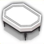 モノクロテーブルの画像