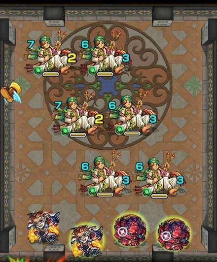 覇者の塔23階ステージ1攻略