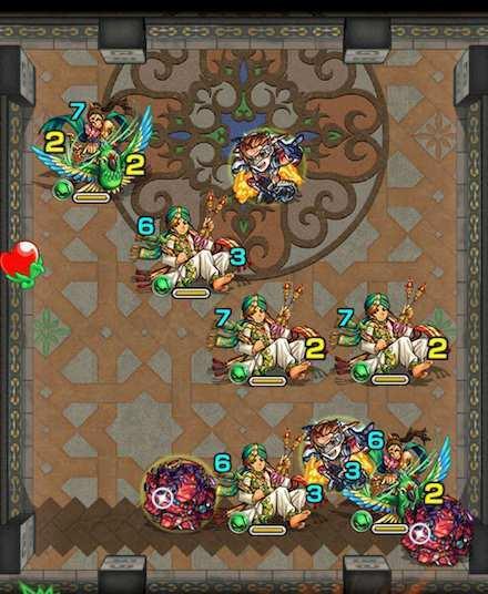 覇者の塔23階ステージ2攻略
