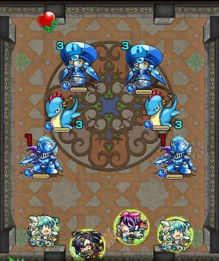 覇者の塔22階のステージ1攻略