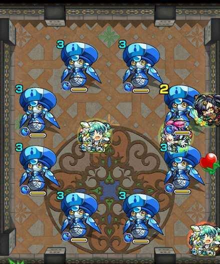 覇者の塔22階のステージ2攻略
