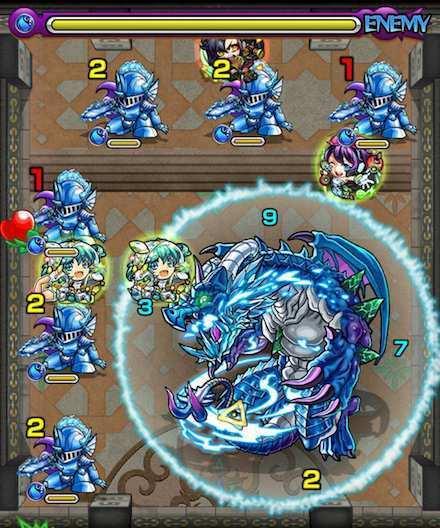 覇者の塔22階のステージ3攻略