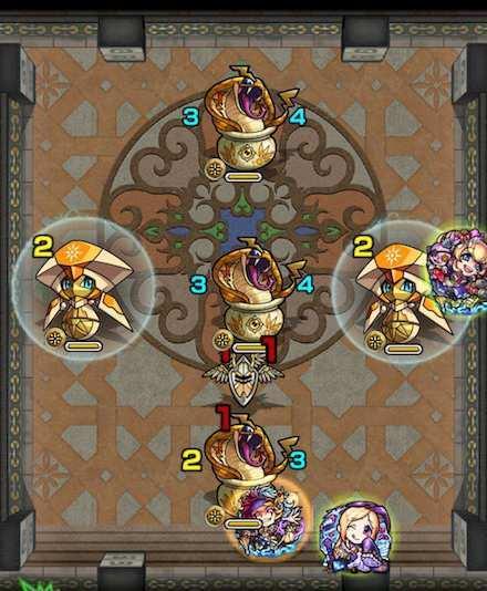 覇者の塔24階のステージ2攻略