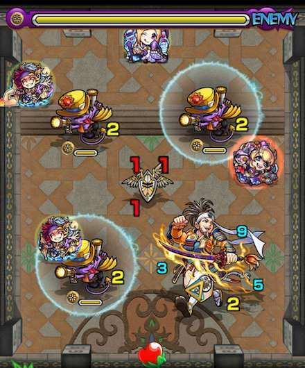 覇者の塔24階のステージ3攻略
