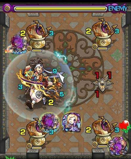 覇者の塔24階のステージ4攻略