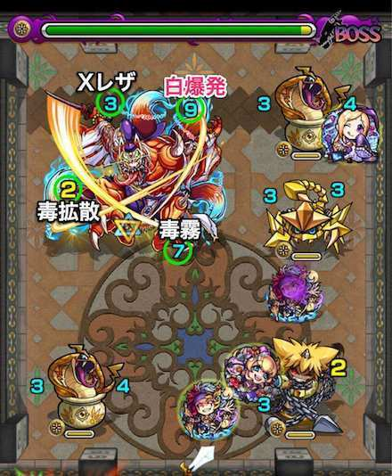 覇者の塔24階のボス2攻略