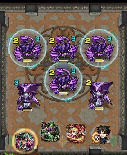 覇者の塔25階ステージ1攻略