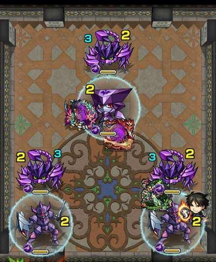 覇者の塔25階ステージ2攻略