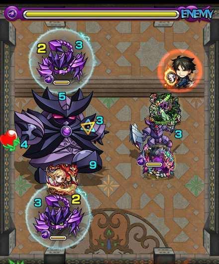 覇者の塔25階ステージ3攻略