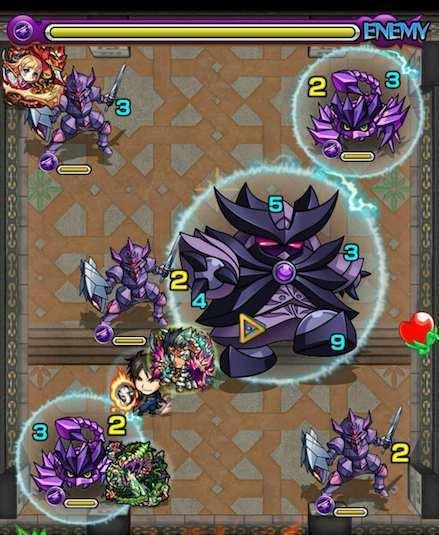 覇者の塔25階ステージ4攻略