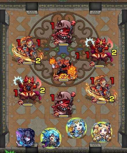 覇者の塔26階ステージ1攻略