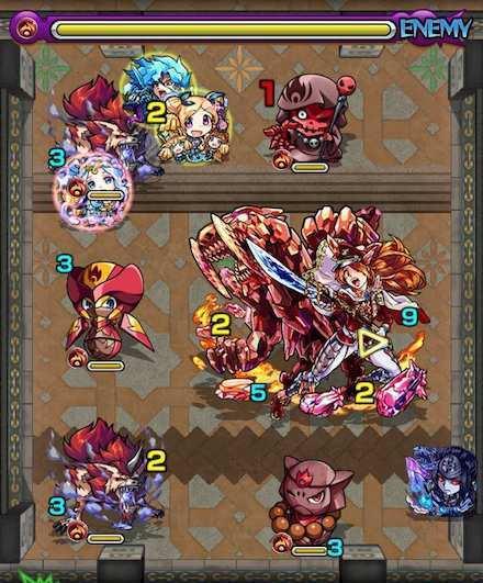 覇者の塔26階ステージ3攻略