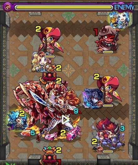 覇者の塔26階ステージ4攻略