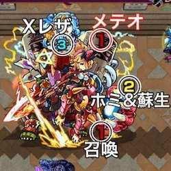 覇者の塔26階ボス攻撃パターン