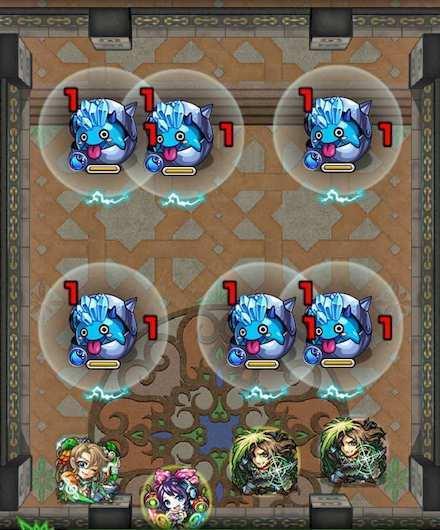 覇者の塔27階ステージ1攻略