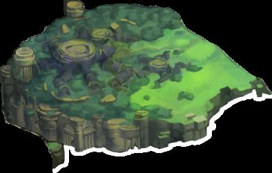 陰鬱の草原の画像