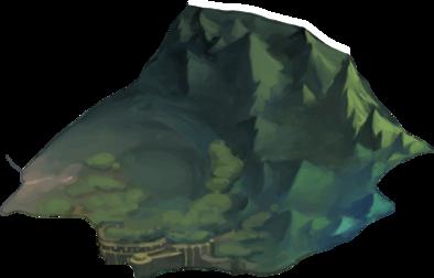 小道の丘の画像