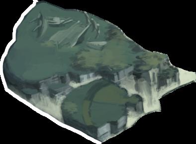 修練の峡谷入口の画像