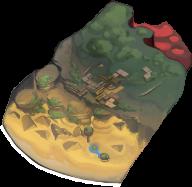 オアシス砂漠の画像