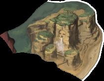 枯れた谷の画像