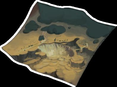 赤い霧の峡谷の画像