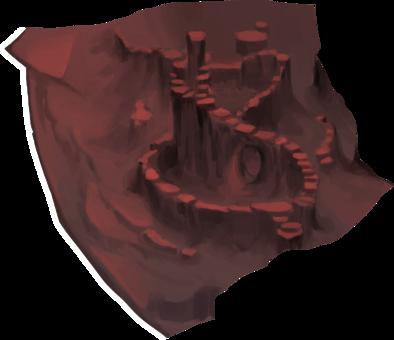 溶岩根源地入口の画像